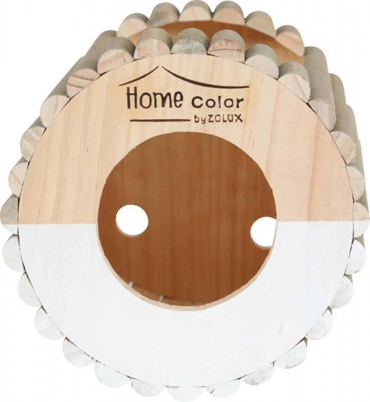Casa in legno per roditore tondo - Home color