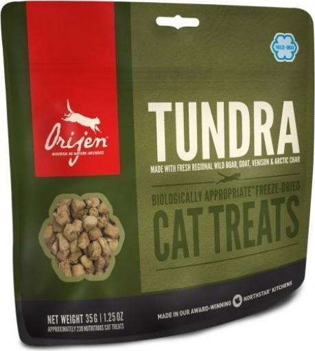 ORIJEN TUNDRA Cat Treats - Friandises Sans Céréales pour chat