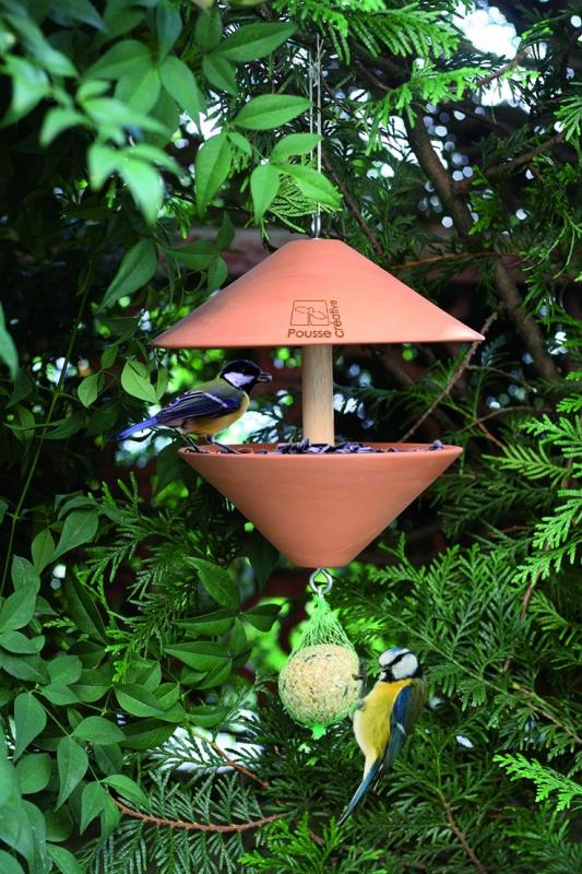 Mangeoire pour oiseaux - Le cercle VIP - Pousse Créative