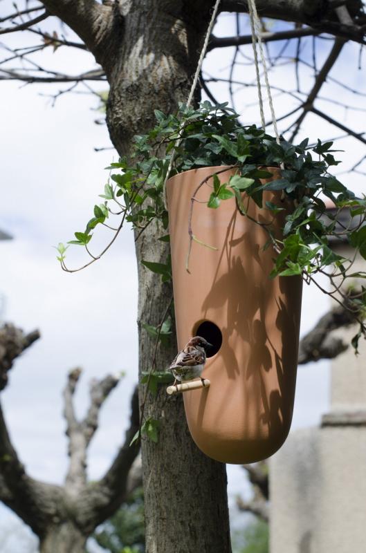 Gasco Le secret garden Nichoir pour oiseaux 2 en 1
