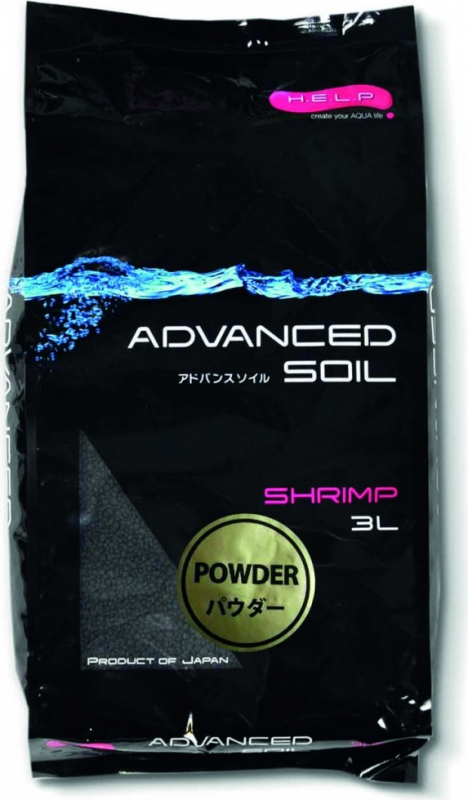 Aquael Advanced Soil Shrimp Powder Sol technique pour crevette