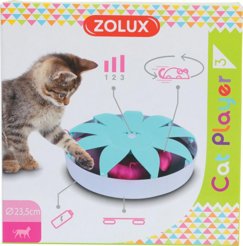 Jouet électronique pour chat - Cat Player 3