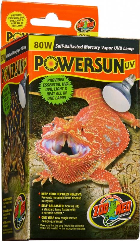 Zoomed Powersun UVA, UVB alles-in-één-lamp voor reptielen