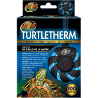 Zoomed Turtle Therm Chauffage à immersion pour tortues aquatique