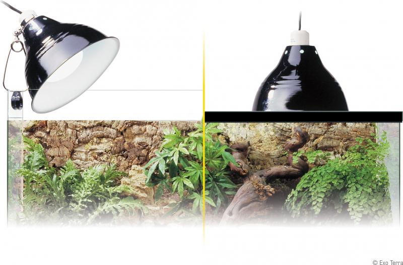 Support de lampe à pince Exo Terra