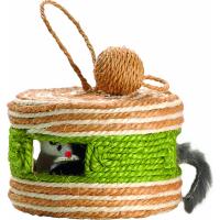 Kattenspeelgoed Yeke BOBBY in sisal - 4 kleuren beschikbaar