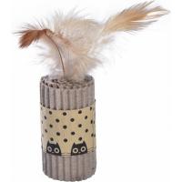 Jouet pour chat glee bobby Beige en carton