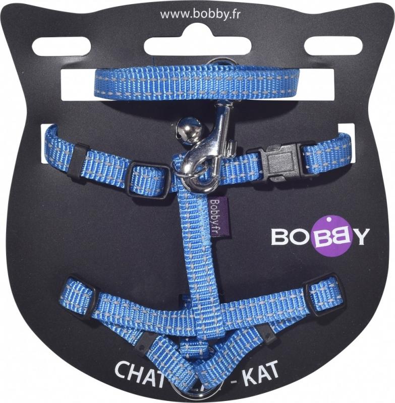 Kit Harnais+laisse pour Chat Safe BOBBY - Différents coloris