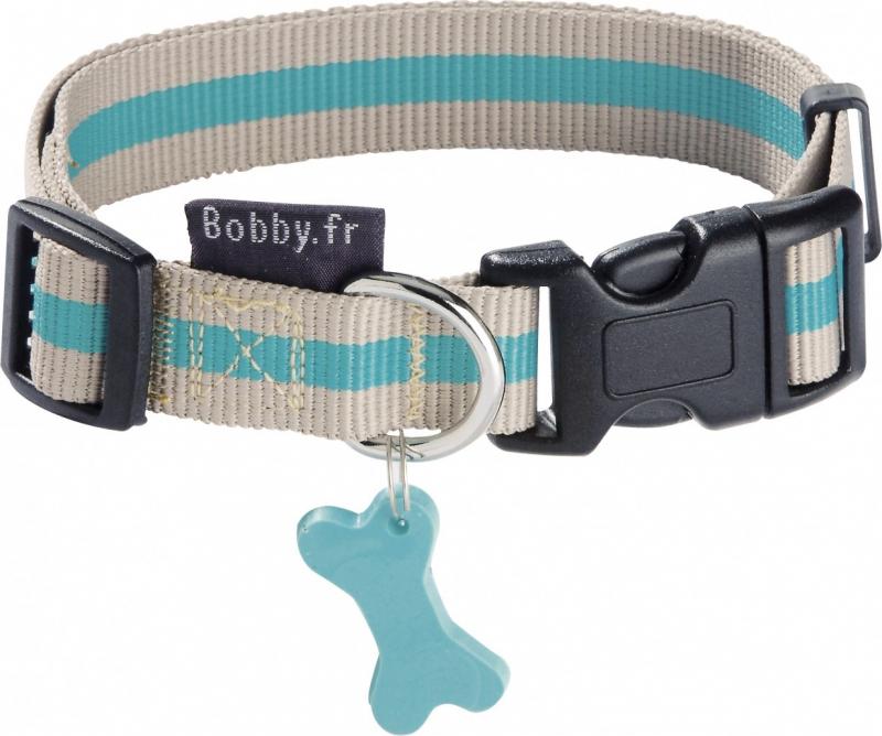 Collier pour chien en Nylon Arlequin BOBBY