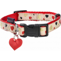 Collier pour chien Lovely BOBBY Rouge ou Noir