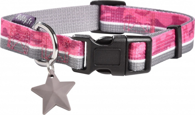 Collier pour chien Norm BOBBY - Camouflage rose ou kaki