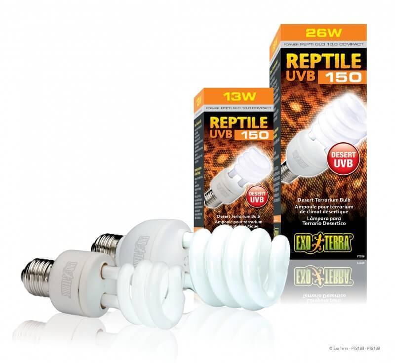 ampoule reptile 10 0 uvb150 reproduisant le climat d sertique ampoule terrarium. Black Bedroom Furniture Sets. Home Design Ideas