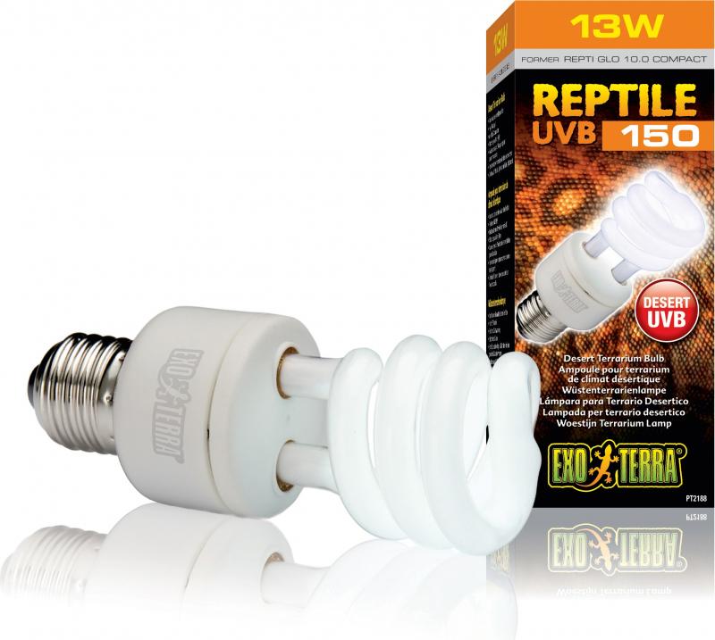 Lamp Exo Terra UVB 150 voor woestijnklimaat