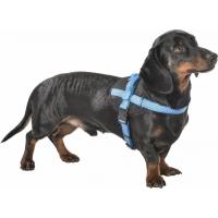 Harnais Easy Safe pour chien BOBBY Bleu - réfléchissant