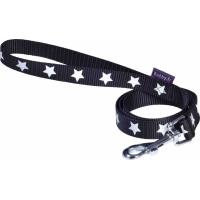 Laisse pour chien Midnight BOBBY - Noir ou Orange - 100 cm