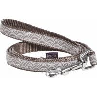 Laisse pour chien en tissu et nylon BOBBY Seigaiha - 100cm