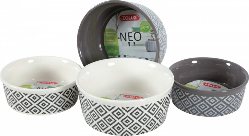 Ecuelle en grès pour rongeur Neo - Beige ou grise