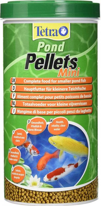Tetra pond pellets mini alimento completo para peces for Alimento peces estanque