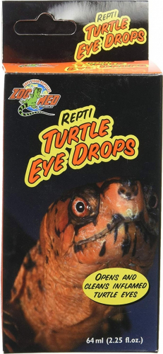 Zoomed Repti Turtle Eye Drops Soin des yeux pour reptiles