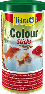 Tetra pond colour fideos alimento completo para peces de for Alimento peces estanque