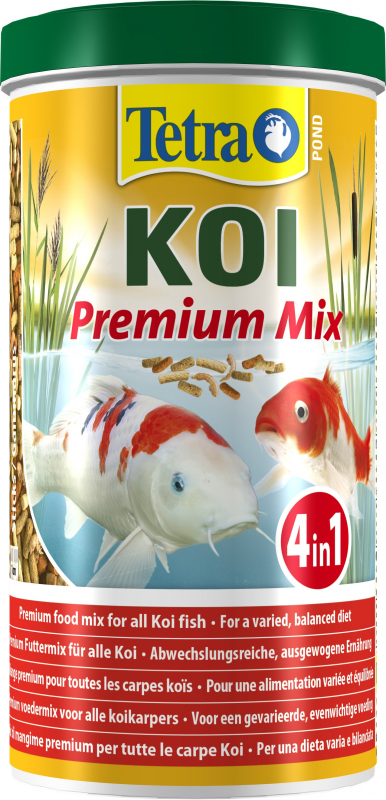 Tetra Pond Koï Premium Mix Mélange 3 sticks avec crevettes pour Koï