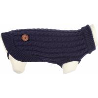 Pull Dandy pour chien bleu marine