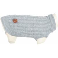 Pull Dandy pour chien gris