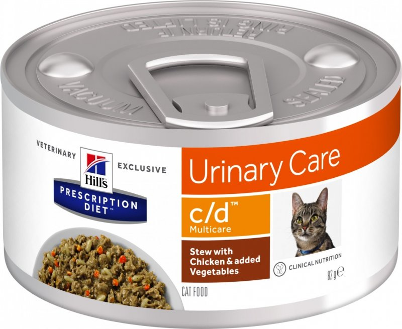 HILL'S Prescription Diet C/D Urinary Care Mijoté pour Chat