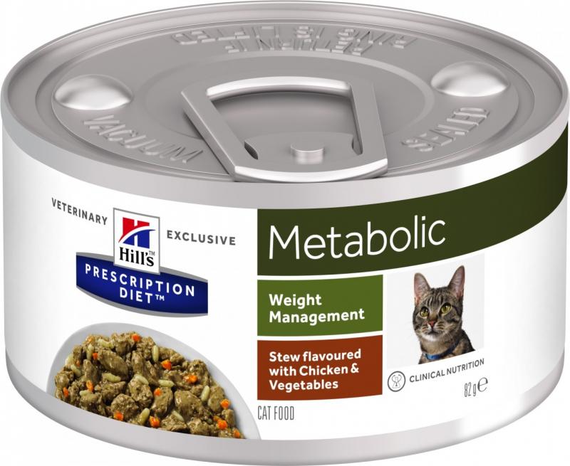 HILL'S Prescription Diet Metabolic Weight Mijoté pour Chat