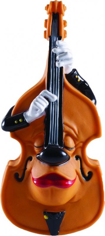 Vadigran Jouet Fun et sonore pour chien vinyl violoncelle 24cm