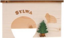 Maison en bois pour rongeur Sylva M