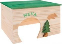 Maison en bois pour rongeur Neva L