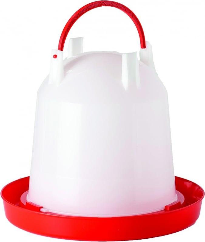 Bebedouro de pendurar para aves de galinheiro Vadigran 4 capacidades disponíveis de 1 a 10 litros
