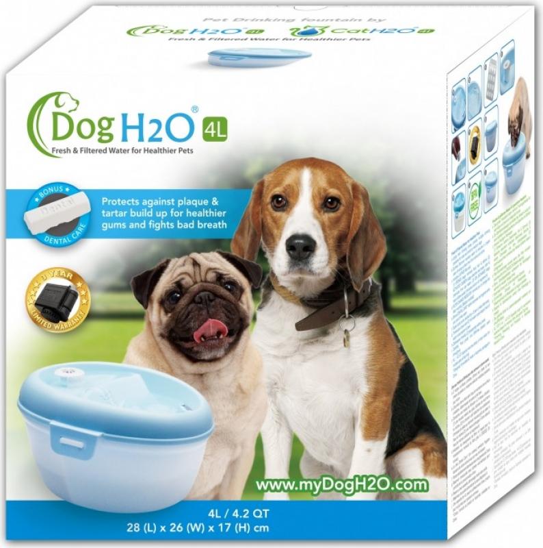 Fuente para perro H2O 4L
