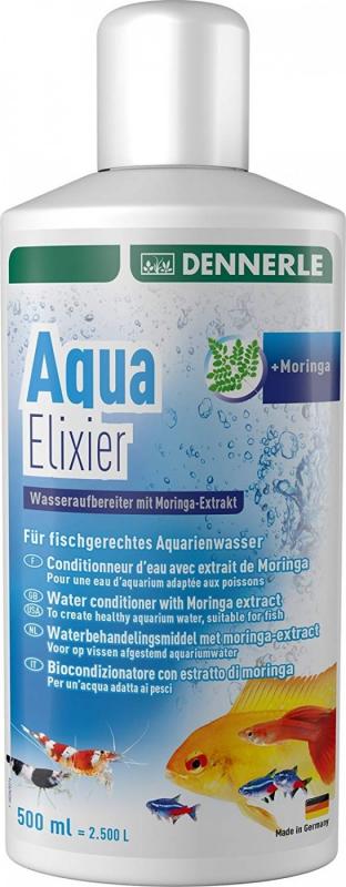 Dennerle Aqua Elixier Conditionneur d'eau avec extrait de Moringa