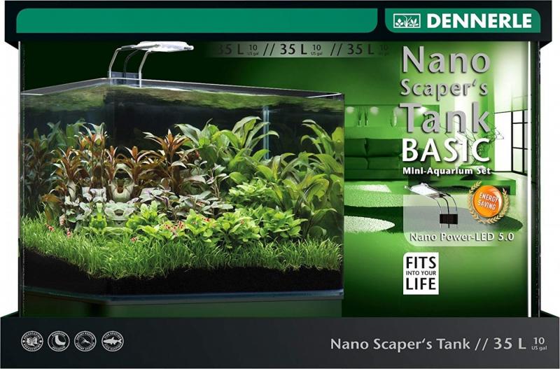 Scaper's 35l Tank Filtre Et Dennerle Avec Led Basic Aquarium dxthrBsCQ