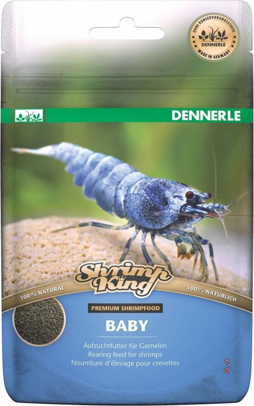 Dennerle Shrimp King Baby Nourriture complète pour crevettes juvéniles