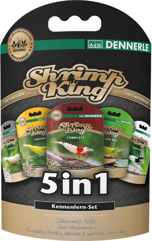 Dennerle Shrimp King 5in1 Coffret découverte pour crevette