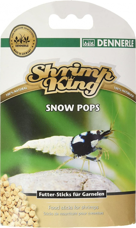 Dennerle Shrimp King Snow Pops Nourriture amusante pour crevettes