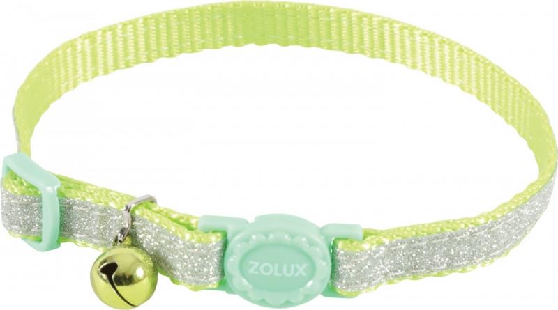 Collier nylon chat réglable Shiny - plusieurs coloris