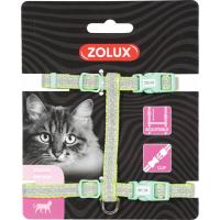 Harnais nylon chat réglable Shiny