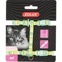 Harnais nylon chat réglable Ethnic