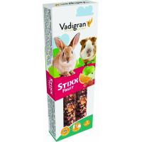 Baguettes à ronger Vadigran StiXX lapins et cochons d'indes aux Fruits 115gr