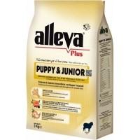 ALLEVA Plus Poulet & Riz Sans Gluten pour Chiot et Junior