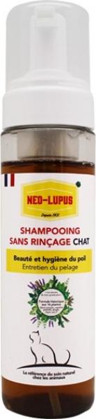 NEO LUPUS Shampoing sans rinçage pour Chat