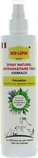 NEO LUPUS Spray Repulsivo Antiparasitario todos los animales