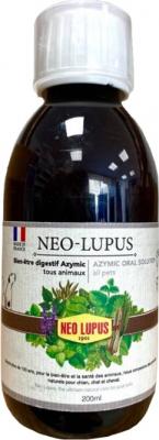 NEO LUPUS Solución Bebible Azymic Todos los Animales - Cuidado & Equilibrio Intestinal