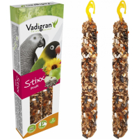 Baguettes à ronger Vadigran StiXX perruches & perroquets avec fruits 115gr
