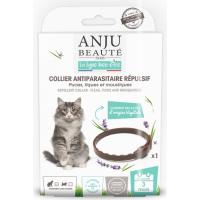 ANJU - Collier antiparasitaire répulsif pour Chat