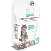 ANJU - Pipettes antiparasitaires répulsives pour Chat & Chaton